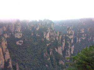 Fall Break Stories: Flying in Zhangjiajie