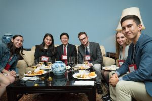 US Ambassador to China, Terry Branstad Hosts American Students and Educators in Beijing with Project Pengyou and the US-China Strong Foundation