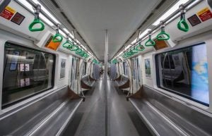 Riding the Subway in Beijing