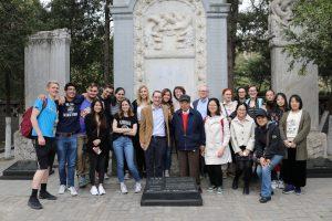 Matteo Ricci's Tomb Visit