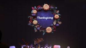 Thanksgiving Dinner Celebration 2019