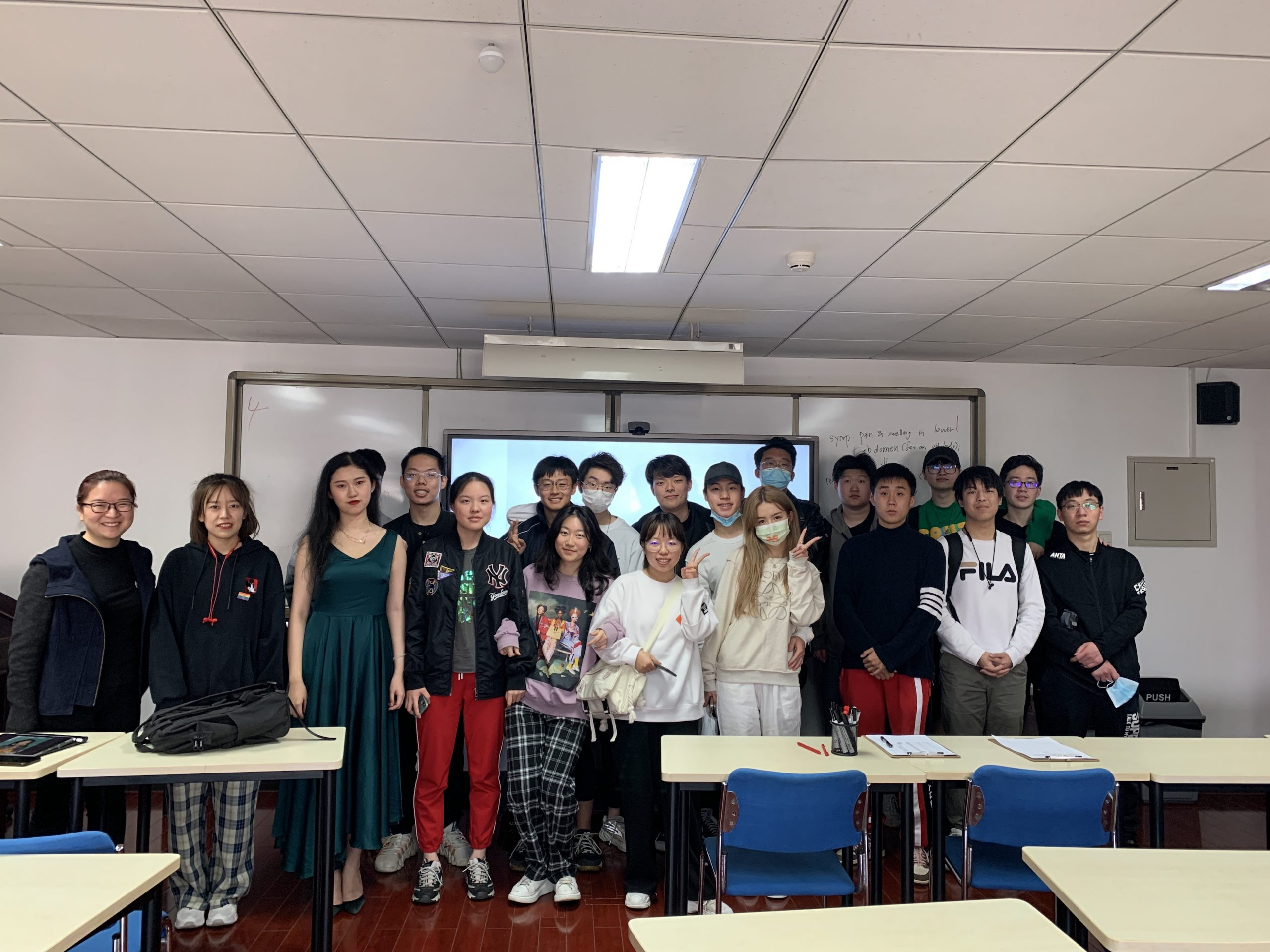 The Beijing LGBT Center Presents An Informative Talk to The Beijing Center Students